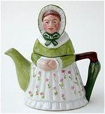 Victorian Lady Teapots
