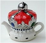 Minature Crown Teapot