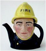 Fireman Teapot