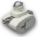 White Tank Teapot