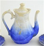 Blue Crystal Tea Set