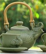 Bali Elephant Tea Set