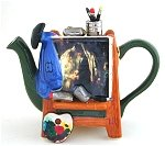 Wedding Easel Teapot