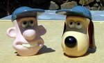 Wallace and Gromit Egg Cups