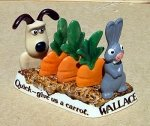 Wallace and Gromit Toast Rack