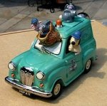 Wallace and Gromit Van Teapot