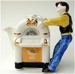 Guitar Man Teapot