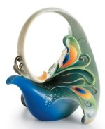 Magnificent Peacock Teapot