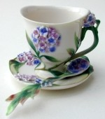 Forget Me Not Cup Saucer