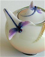 Dragonfly Cream and Sugar Set