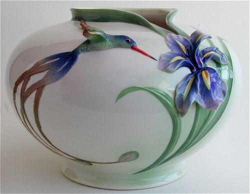 Franz Porcelain Hummingbirds