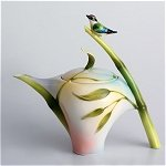 Bamboo Song Bird Teapot