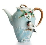Franz Chickadee Tea Set