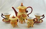 Poppy tea set