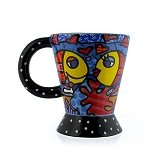 Fishes Mug Set of 2