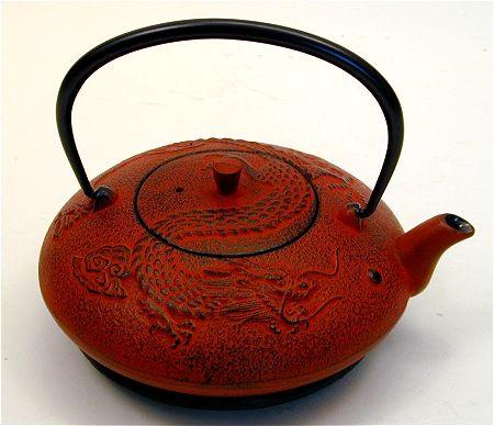 Zodiac cast iron teapots - Cast iron dragon teapot ...