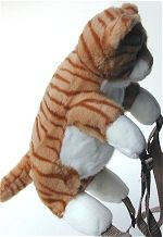 Jaag Plush Tiger Backpack