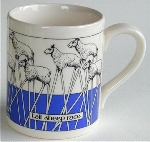 Tall Sheep Mug Simon Drew