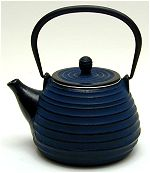 Energy Blue Teapot
