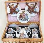 Teddy Bears Tea Basket