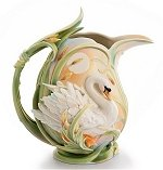 Southern Splendor Swan Pitcher