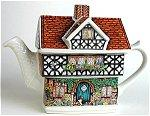 Ivy Cottage Teapot