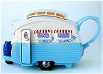 Blue Trailer Teapot